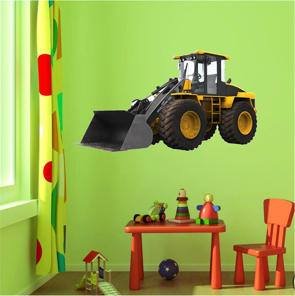 Bull Dozer 1 Wall Decal