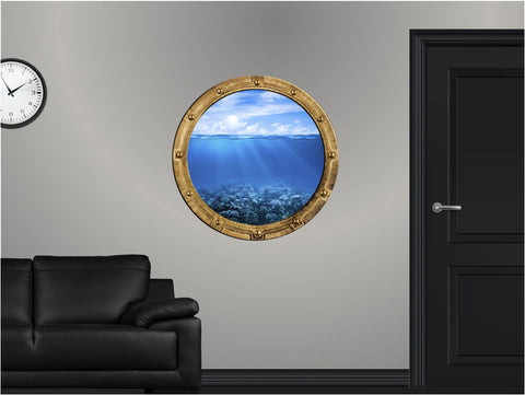 Portscape Coral Reef #2 Wall Decal!