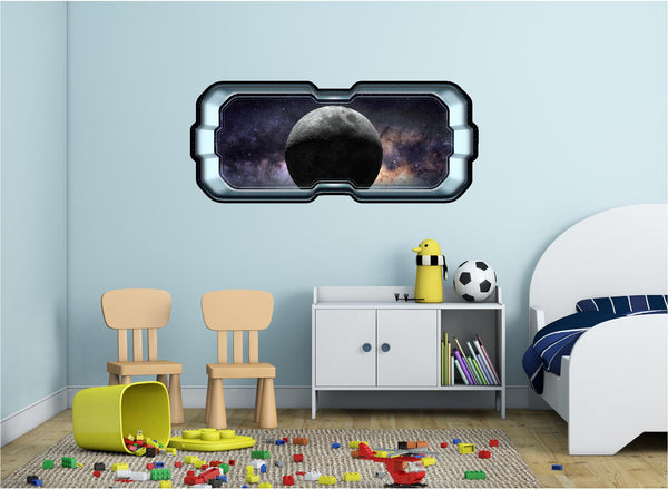 SpaceScape Dark Side Of The Moon #1 Wall Decal!