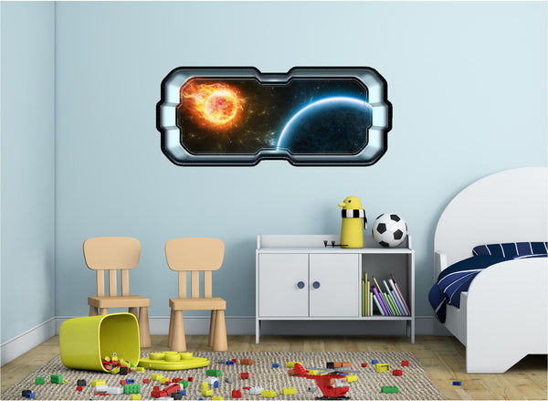 SpaceScape Distant Sun Wall Decal!