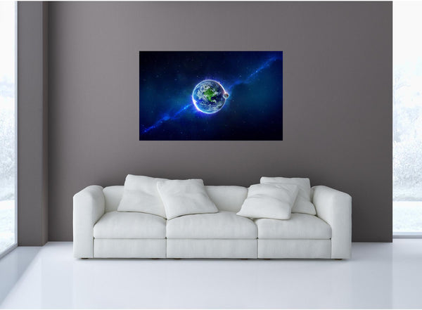 MiniMural: Earth #1 Wall Decal!