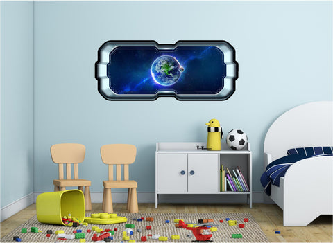 SpaceScape Earth #1 Wall Decal!