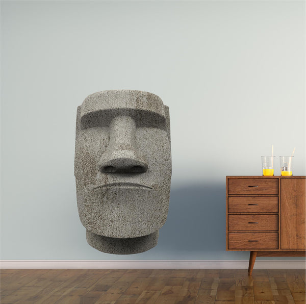 Easter Island Moai Statue Wall Decal!