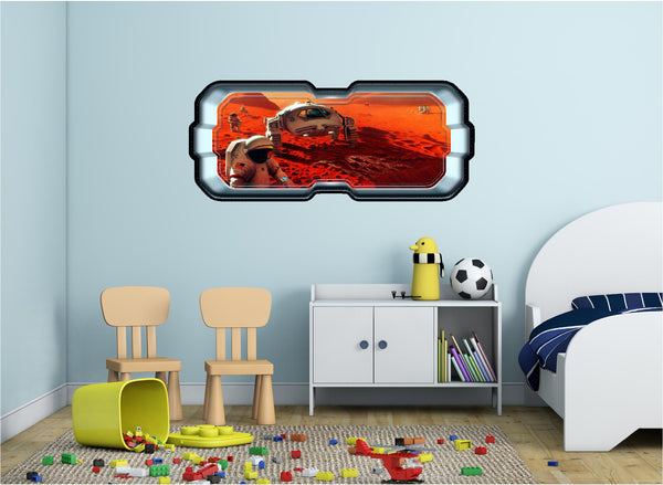 SpaceScape Exploring Mars Wall Decal!
