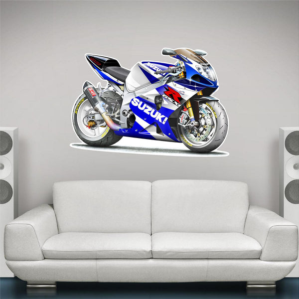 2002 Suzuki GSXR 1000 Wall Decal!