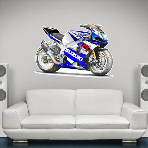 2002 Suzuki GSXR 1000 Wall Decal! - Stickit Graphix