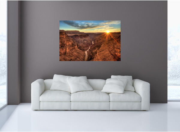 MiniMural: Grand Canyon Sunset #1 Wall Decal!