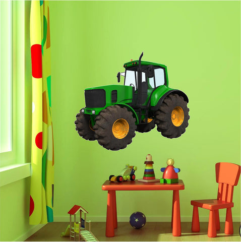 Farm Tractor 1 Wall Decal!