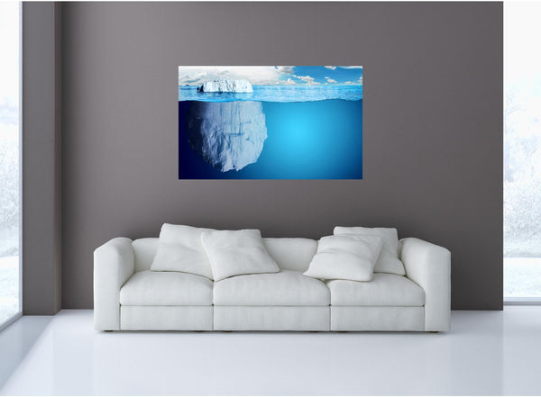 MiniMural: Iceberg #1 Wall Decal!