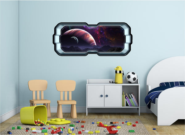 SpaceScape Jupiter & Moons #1 Wall Decal!