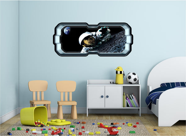 SpaceScape Life On The Moon Wall Decal!