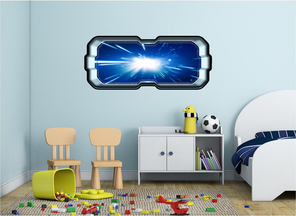 SpaceScape Light Speed Hyperspace Wall Decal!