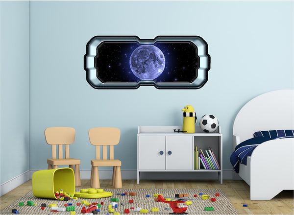 SpaceScape Moon #1 Wall Decal!