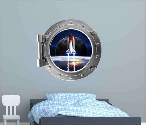 Portscape Space Shuttle Launch #2 Wall Decal!