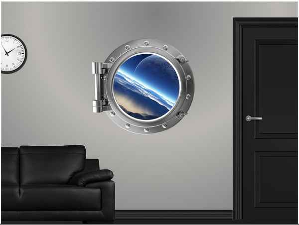 Portscape Distant Moon #1 Wall Decal!