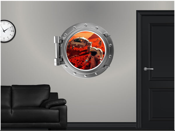 Portscape Exploring Mars Wall Decal!