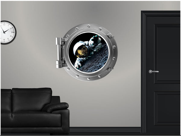 Portscape Life On The Moon Wall Decal!