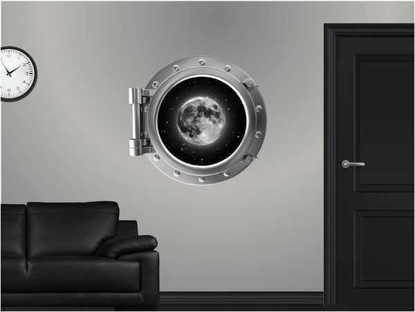 Portscape Moon #1 Wall Decal!