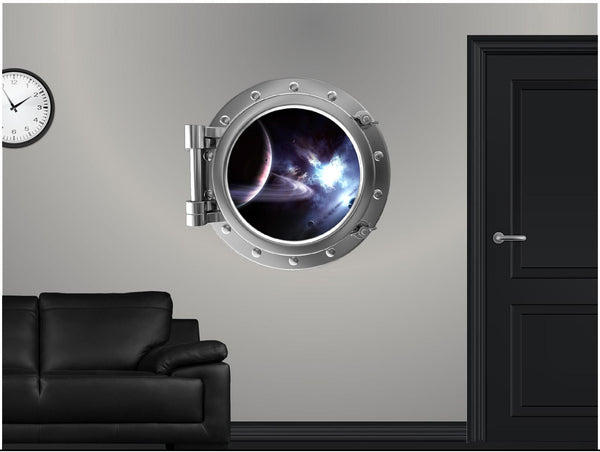 Portscape Saturn & Moons Wall Decal!