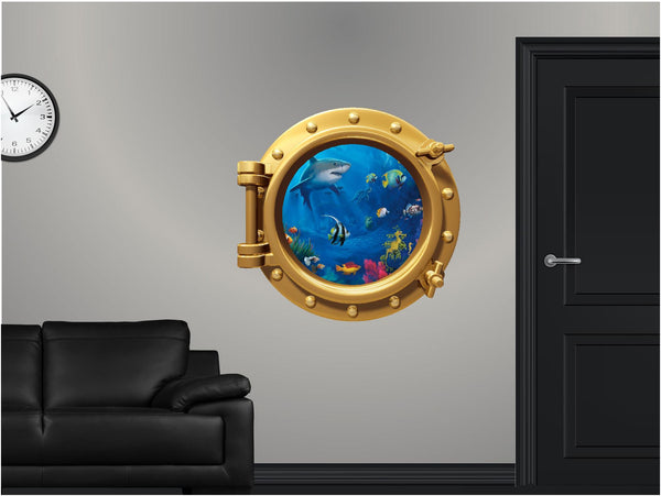 Portscape Sea Life #1 Wall Decal!