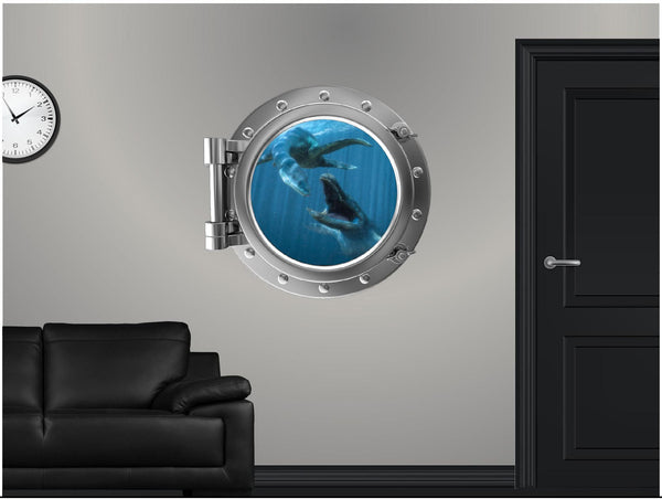 Portscape Sea Monsters #1 Wall Decal!