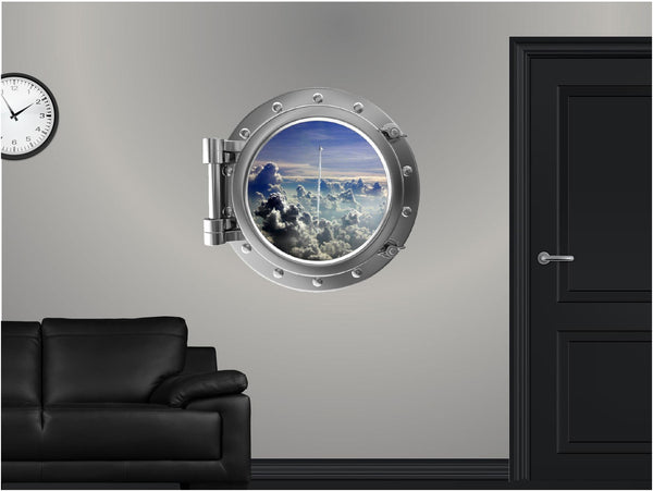 Portscape Takeoff #1 Wall Decal!