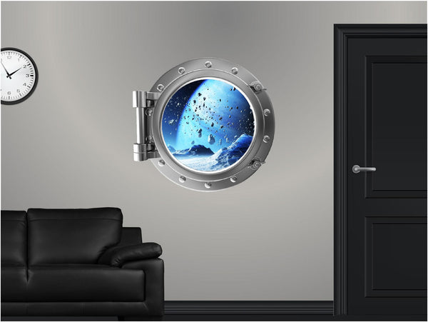 Portscape Ice Planet #2 Wall Decal!