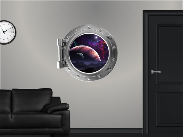 Portscape Jupiter & Moons #1 Wall Decal!