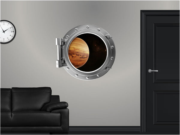 Portscape Jupiter & Moons #2 Wall Decal!