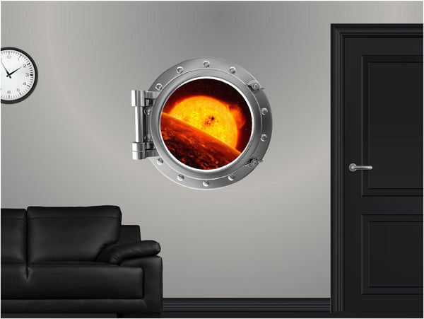 Portscape Orbiting Venus #1 Wall Decal!