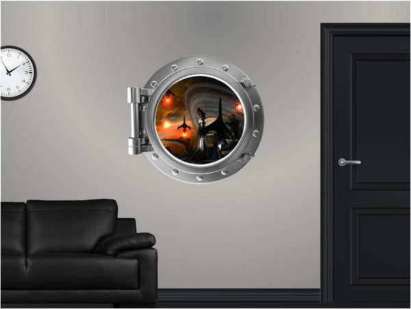 Portscape Space Station #1 Wall Decal!