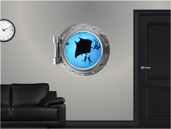 Portscape Stingray #1 Wall Decal!