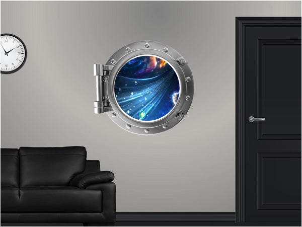Portscape Through The Wormhole #1 Wall Decal!