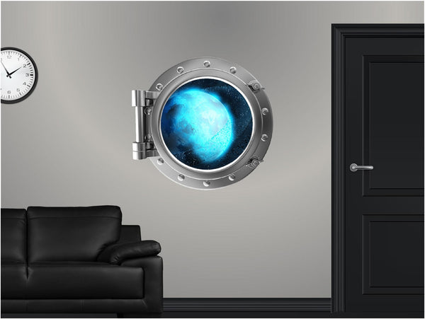 Portscape Uranus & Rings #1 Wall Decal!