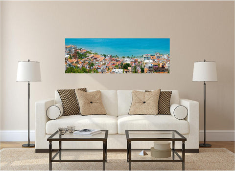 Panoramic Puerto Vallarta Wall Decal!