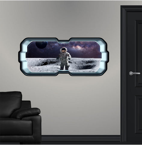 SpaceScape Astronaut on Moon 1 Wall Decal!