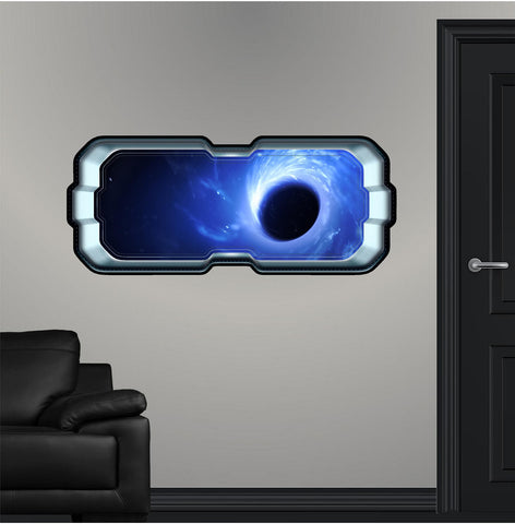 SpaceScape Black Hole Singularity #2 Wall Decal!