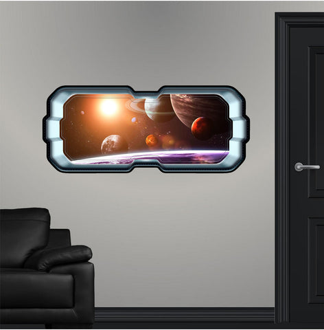 SpaceScape Solar System #1 Wall Decal!