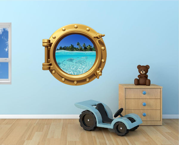 Portscape Shallow Water #1 Wall Decal!
