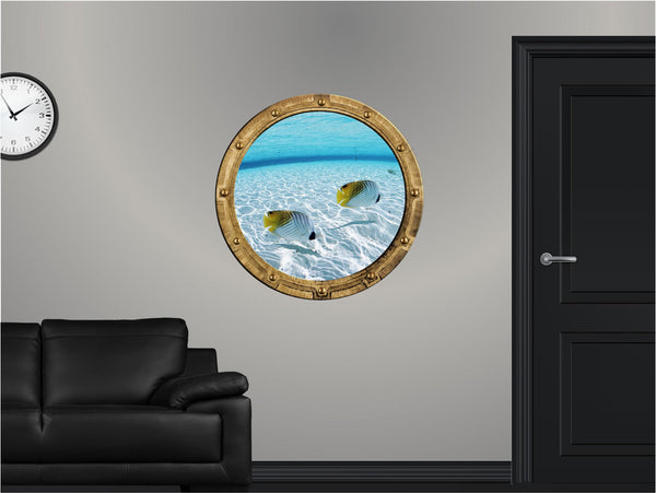 Portscape Shallow Water #2 Wall Decal!