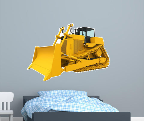 Track layer Dozer #2 Wall Decal