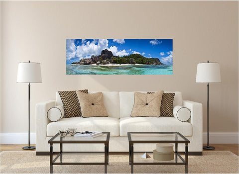 Panoramic Tropical Island #1 Wall Decal!