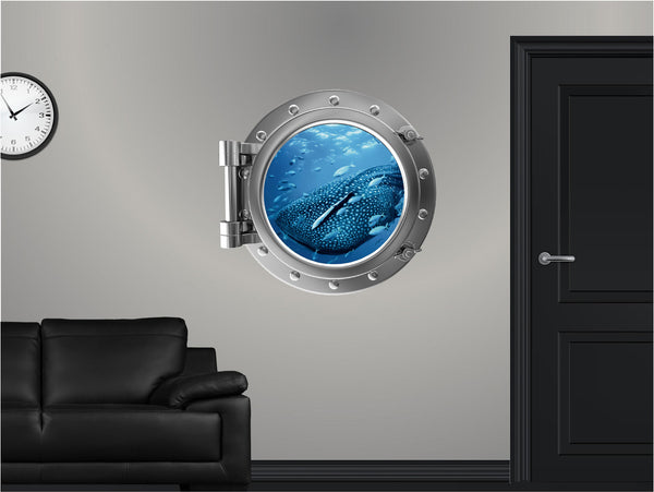 Portscape Whale Shark #1 Wall Decal!
