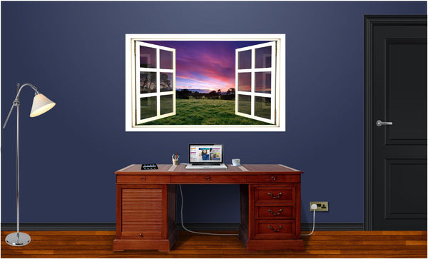 WindowScape Country Morning #1 Wall Decal!