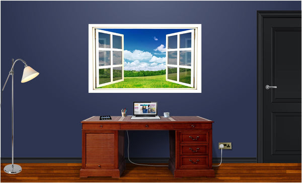 WindowScape Country Morning #2 Wall Decal!