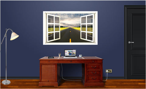 WindowScape Endless Road Wall Decal!