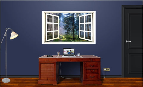 WindowScape Forest #1 Wall Decal!