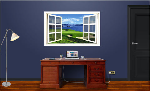 WindowScape Golf Course #1 Wall Decal!