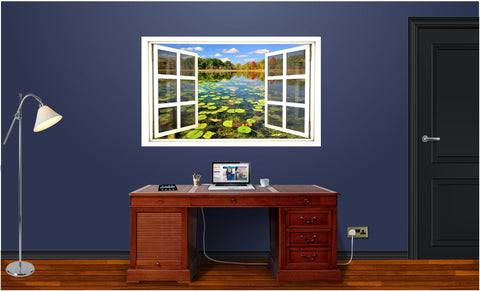 WindowScape Lillypad Pond Wall Decal!
