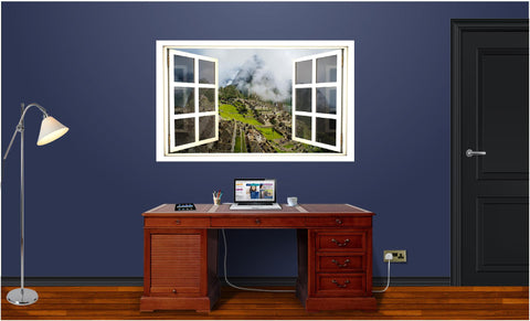 WindowScape Machu Picchu Wall Decal!